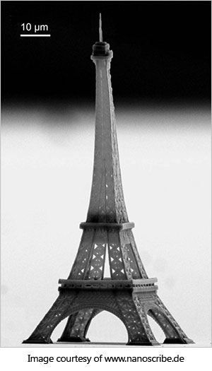 nanoscale example of eiffel tower