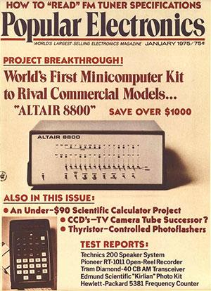 popular electronics altair 8800
