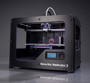 markerbot replicator 2 3d printer