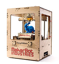 makerbot thing-o-matic 3d printer